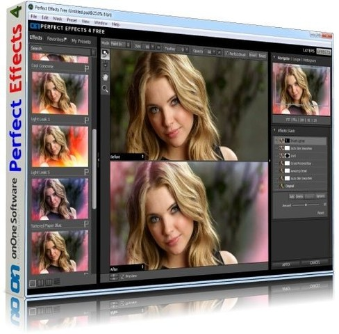 onOne Perfect Effects 4.0.0 Free Edition