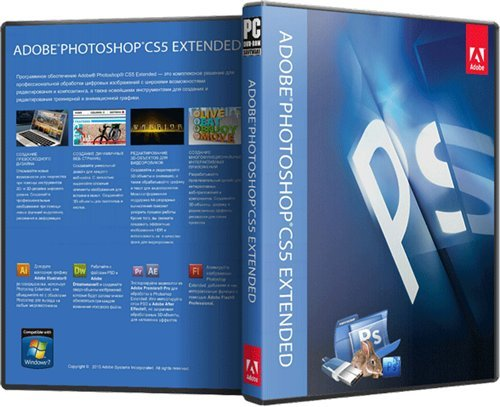 Adobe Photoshop CS5 Extended 12.0.1 RePack MarioLast