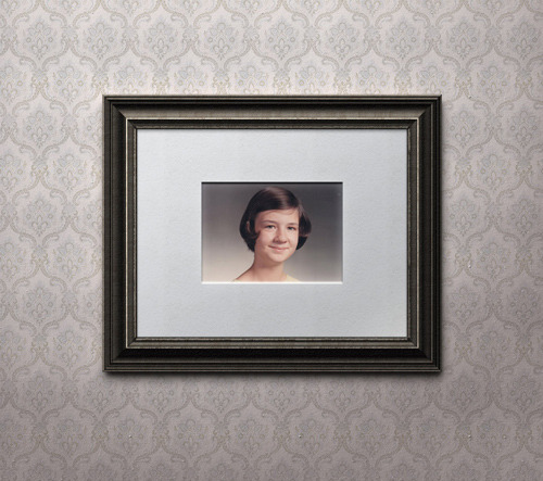 PSD Antique Picture Frame
