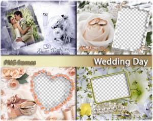 Наша Свадьба | Wedding day (4 PNG)